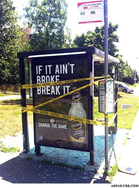 broken bus ad