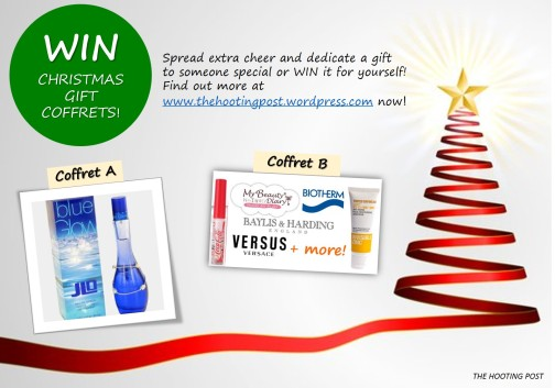 WIN a gift or dedicate a gift to someone!