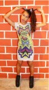 NDEBELE T-shirt dress, $89. Image credit: Mash-up