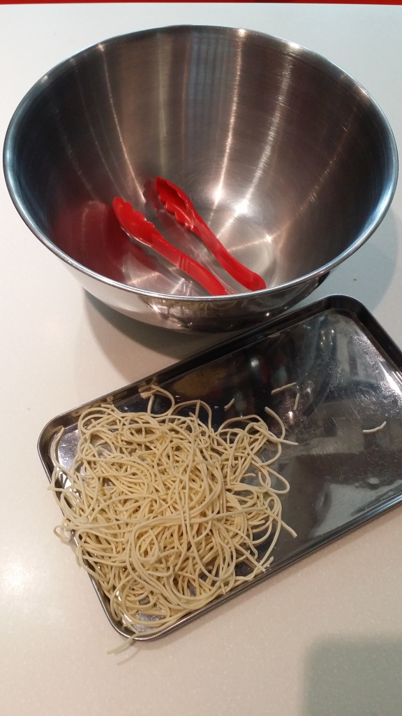 Time to play with noodles!