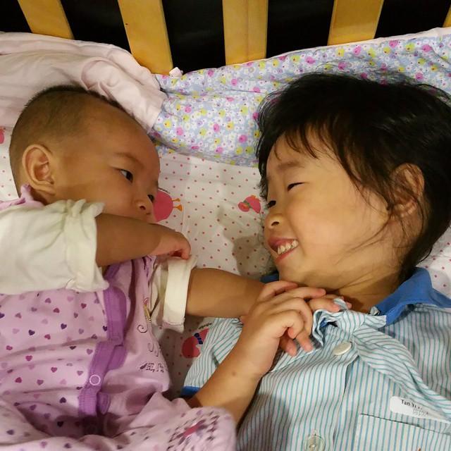 Sisterly love <3