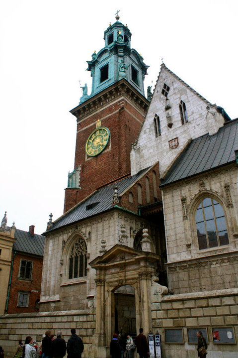 Wawel Cathedral - The resting place of Polish royalty and other distinguished Poles.