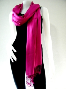 A pashmina spruces up an outfit instantly!Credit: Lovepashminas.com