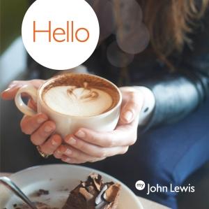 John Lewis Free Cake & Coffee