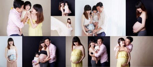Singapore maternity photography photoshoot Orange Studios