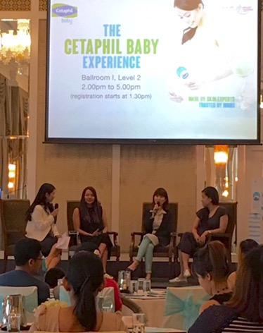 Cetaphil Baby Experience baby care workshop for Singapore parents