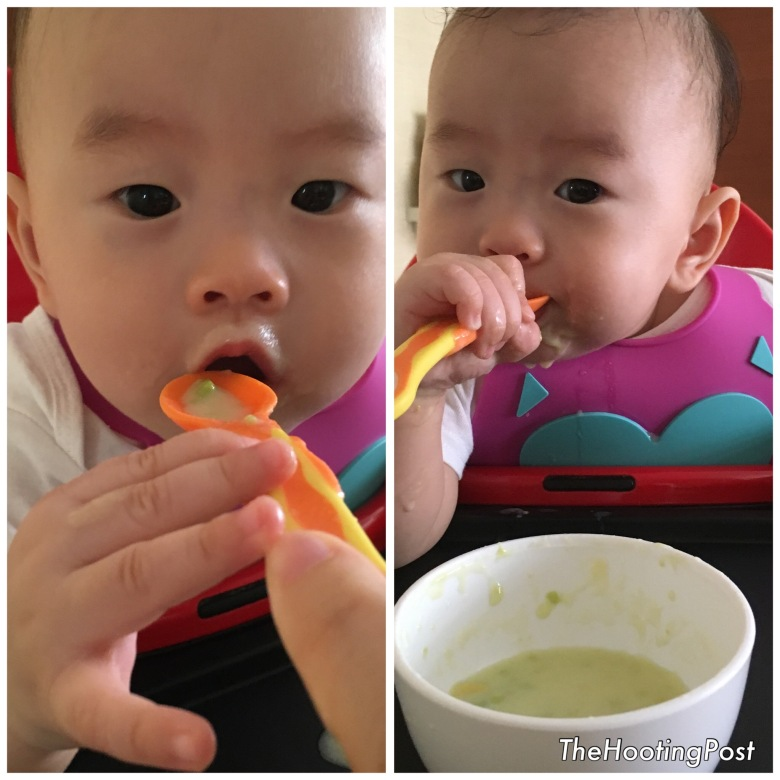 baby first food infant cereal solids weaning