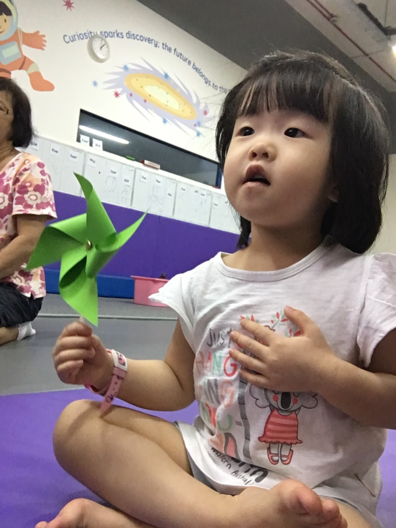 review Sparkanauts program for children enrichment gym class Singapore