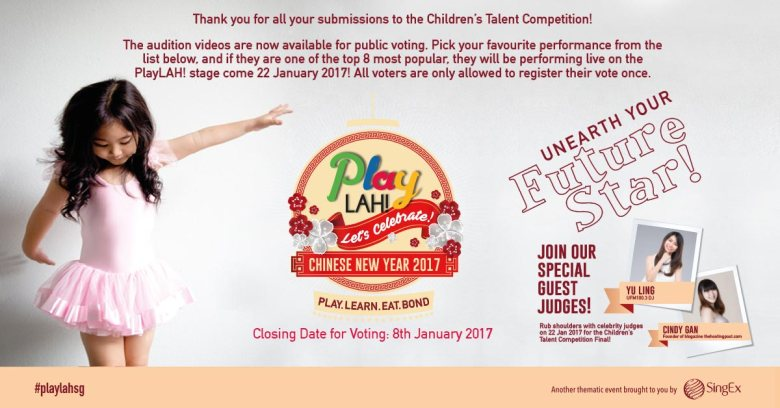 PlayLAH! Chinese New Year 2017 Singapore family event