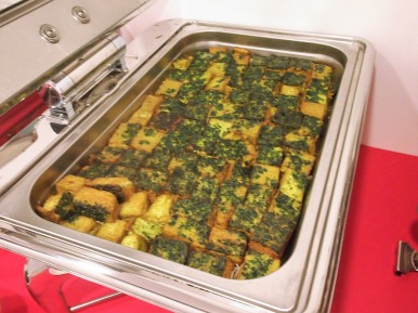 Fried Specialty Spinach Tofu