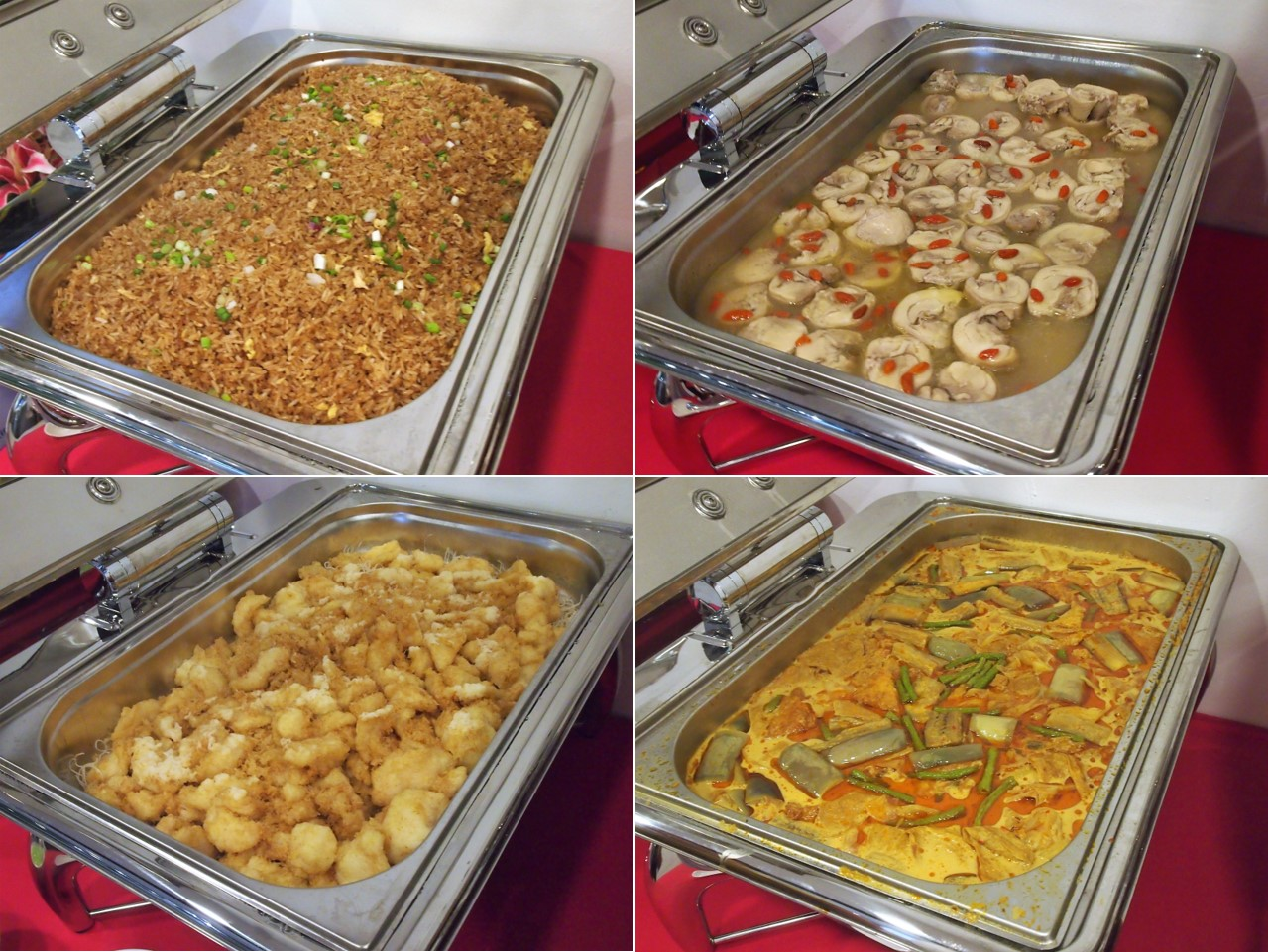 buffet caterer Singapore menu birthday