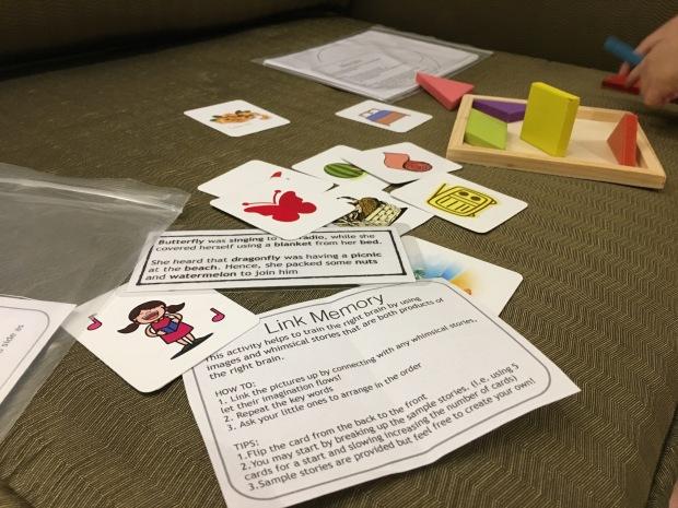 link memory right brain stimulation kids singapore