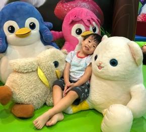 fun with Badanamu characters and toys