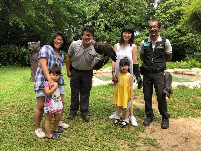 singapore family review Bird's Eye Tour experience