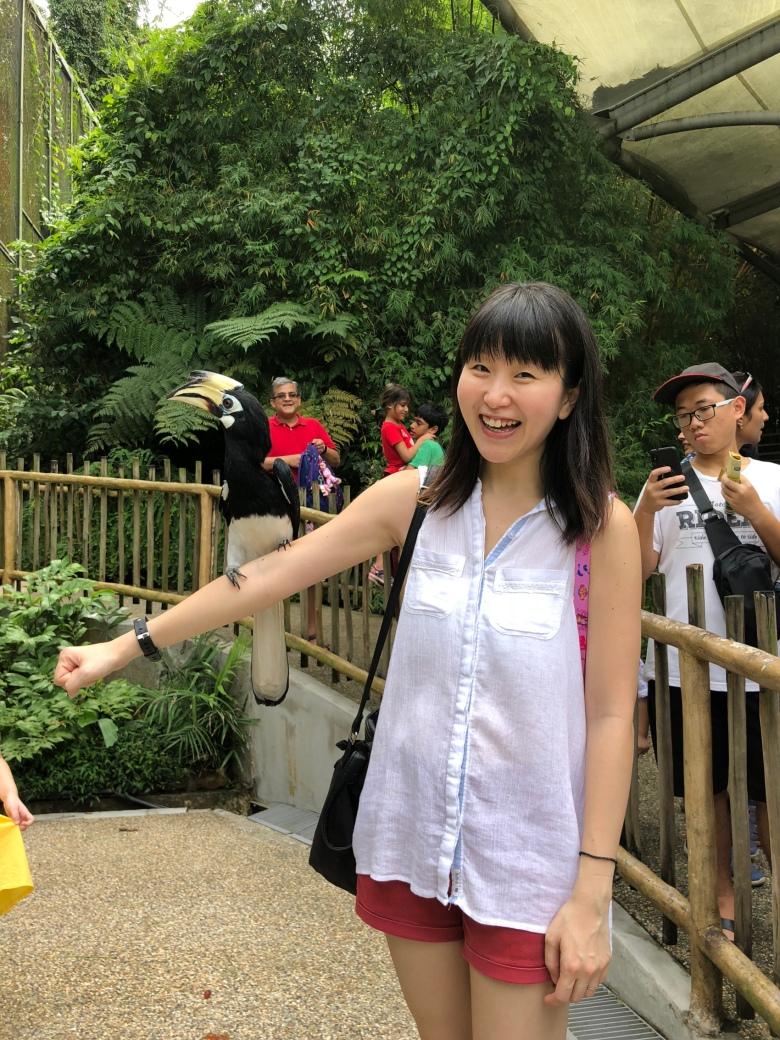family blogger experience Jurong Bird Park Singapore